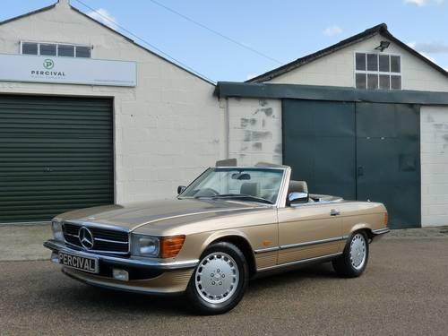 1986 Mercedes 300SL, pristine condition SOLD (picture 6 of 6)