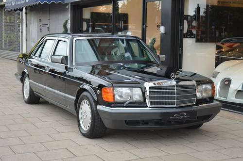 1991 MERCEDES-BENZ 560SEL ARMORED 5DR AUTO For Sale (picture 1 of 6)