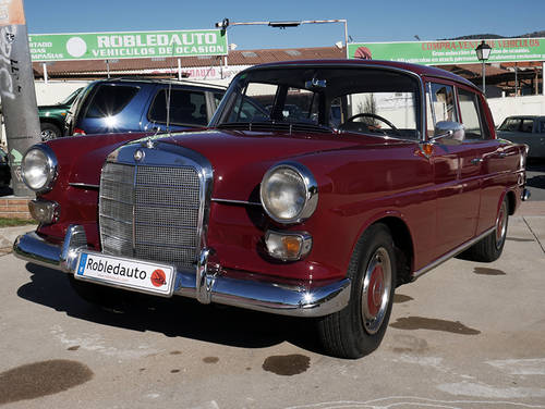 1966 Mercedes Benz 190 1.9 D For Sale (picture 1 of 6)