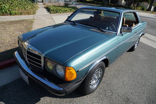 1984 Mercedes 300CD Turbo Diesel 2 Dr Coupe with 96K miles