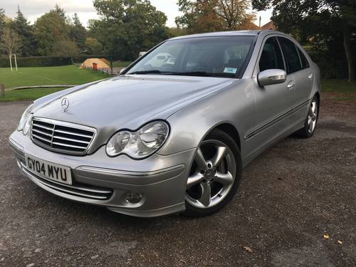 2004 Mercedes C270 cdi Avantgarde SOLD (picture 1 of 6)