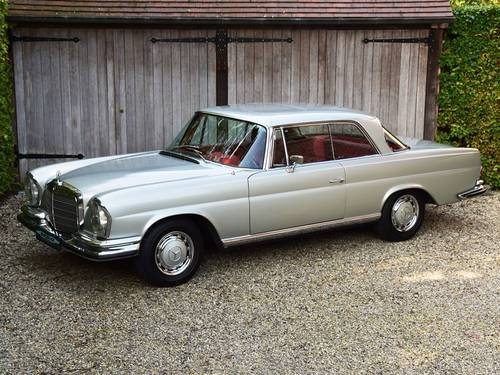 1970 Beautifully restored Mercedes 280 SE Coupé (LHD) For Sale (picture 1 of 6)