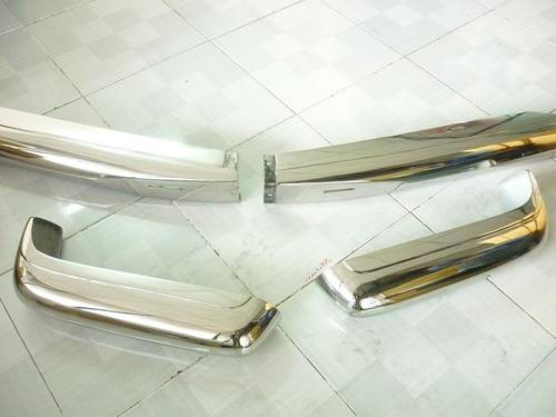 Mercedes Benz W113 Stainless Steel Bumper For Sale (picture 2 of 6)
