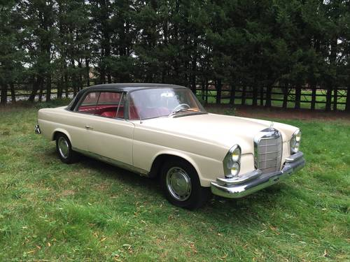 1964 Mercedes-Benz 220 SEB Coupe For Sale (picture 1 of 6)