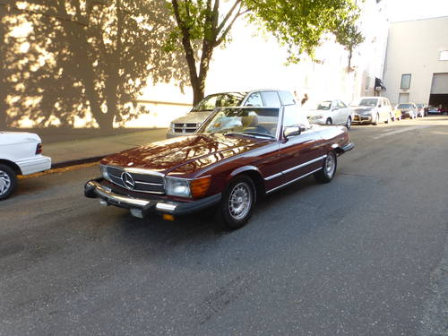 1982 Mercedes 500SL Euro Spec Nice Driver - SOLD (picture 3 of 6)