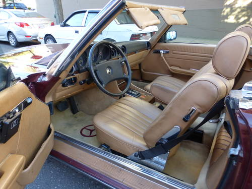 1982 Mercedes 500SL Euro Spec Nice Driver - SOLD (picture 5 of 6)