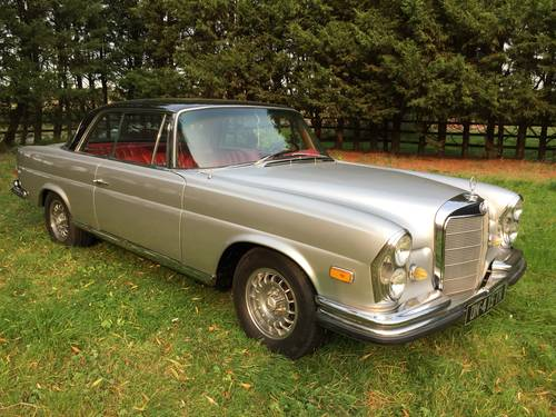 1967 Mercedes 250 SE Auto Coupe. For Sale (picture 2 of 6)