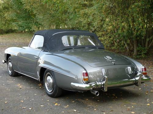 1957 Mercedes 190 SL For Sale (picture 3 of 6)