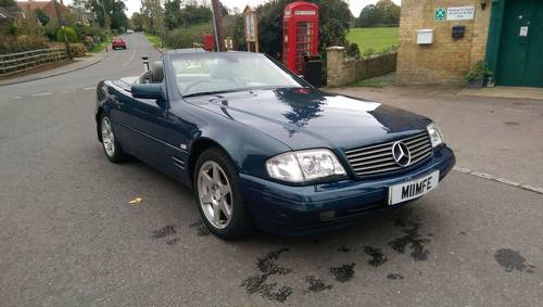 1998 Mercedes-Benz R129 SL320 Special Edition  SOLD (picture 1 of 6)