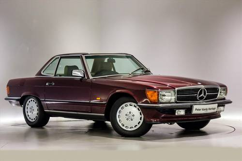 1989 Mercedes 300SL(R107)- ONLY 7700 MILES-THE BEST AVAILABLE  SOLD (picture 1 of 6)