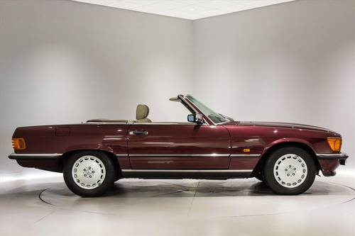 1989 Mercedes 300SL(R107)- ONLY 7700 MILES-THE BEST AVAILABLE  SOLD (picture 3 of 6)