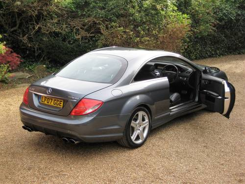 2007 Mercedes Benz CL63 AMG With Only 36,000 Miles From New For Sale (picture 5 of 6)