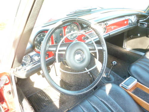 1971 MERCEDES BENZ 280SL PAGODA W113 MANUAL For Sale (picture 6 of 6)