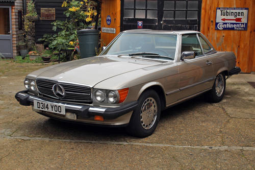 1986 Mercedes 560SL R107 California Import For Sale (picture 1 of 6)