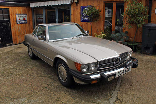 1986 Mercedes 560SL R107 California Import For Sale (picture 2 of 6)