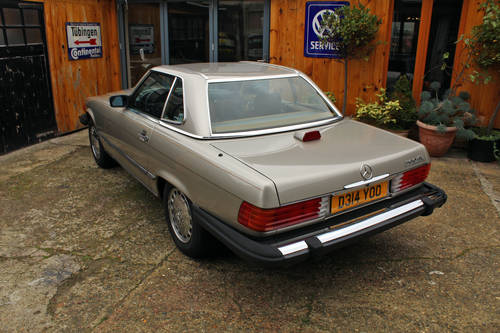 1986 Mercedes 560SL R107 California Import For Sale (picture 4 of 6)