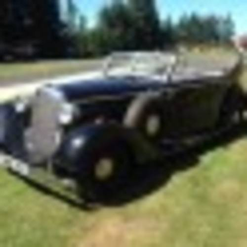 "1937 ""Indiana Jones"" Mercedes-Benz 320 Staff Car Paramount For Sale (picture 1 of 6)"