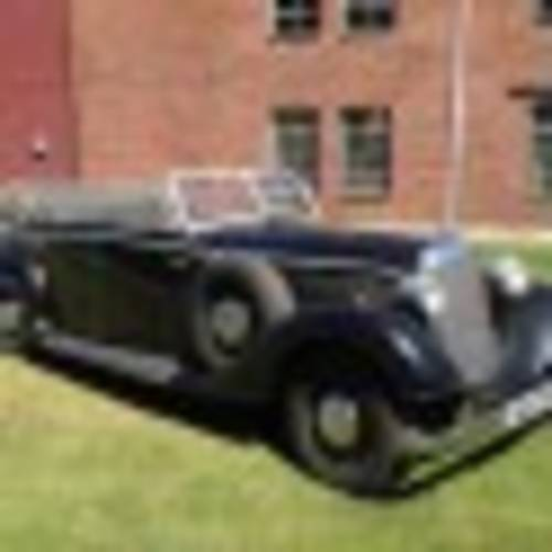 "1937 ""Indiana Jones"" Mercedes-Benz 320 Staff Car Paramount For Sale (picture 3 of 6)"