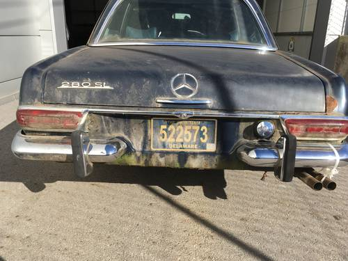 1969 Mercedes 280 SL SOLD (picture 2 of 6)