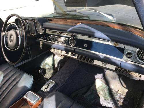 1969 Mercedes 280 SL SOLD (picture 5 of 6)