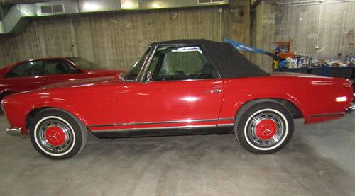 1970 Mercedes 280SL Pagoda Automatic  Restored For Sale (picture 1 of 6)