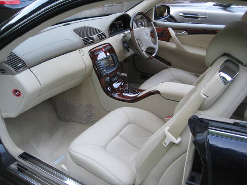 2004 Mercedes Benz CL500 With Just 20,000 Miles From New For Sale (picture 3 of 6)