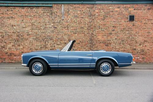 1968 Mercedes-Benz 280 SL Pagoda immaculate RHD example SOLD (picture 2 of 6)