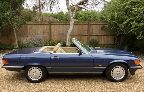 1987/D- Mercedes 300SL **SOLD** FSH, Warranty 500 Wanted (picture 6 of 6)