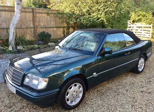 1996/P - **SOLD** Mercedes E320 Cabriolet Sportline. W124. Wanted (picture 1 of 6)
