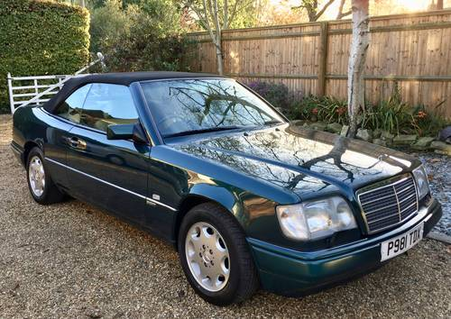 1996/P - **SOLD** Mercedes E320 Cabriolet Sportline. W124. Wanted (picture 2 of 6)