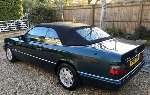 1996/P - **SOLD** Mercedes E320 Cabriolet Sportline. W124. Wanted (picture 3 of 6)