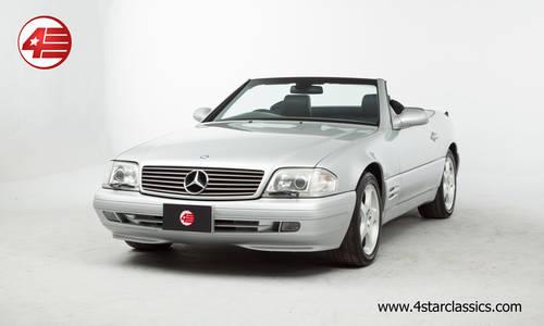 1999 Mercedes R129 SL320 V6 /// Facelift /// Just 25k miles For Sale (picture 1 of 6)