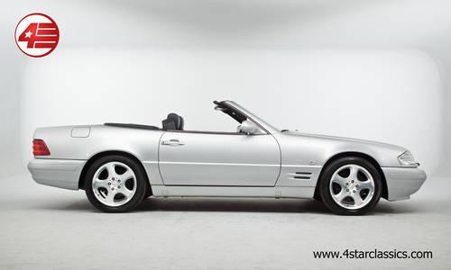 1999 Mercedes R129 SL320 V6 /// Facelift /// Just 25k miles For Sale (picture 2 of 6)