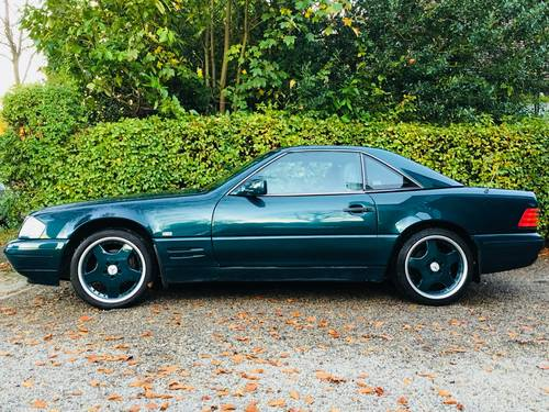 1996 SL280 - TORMALINE GREEN - 2 OWNERS, LOVELY COMBINATION SOLD (picture 3 of 6)