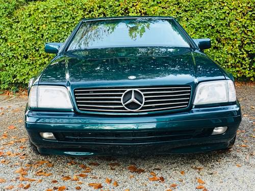 1996 SL280 - TORMALINE GREEN - 2 OWNERS, LOVELY COMBINATION SOLD (picture 4 of 6)