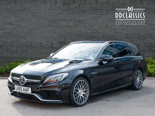 2015 Mercedes-Benz C63 S AMG Premium Estate (RHD) SOLD (picture 1 of 6)