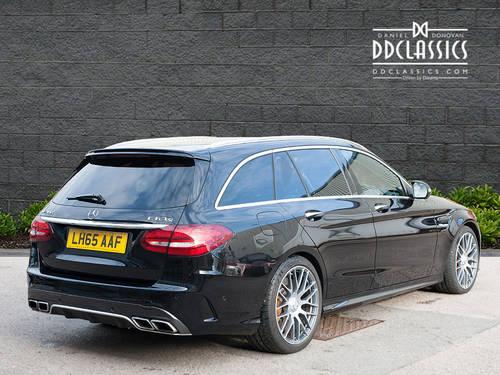 2015 Mercedes-Benz C63 S AMG Premium Estate (RHD) SOLD (picture 2 of 6)