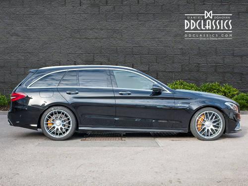 2015 Mercedes-Benz C63 S AMG Premium Estate (RHD) SOLD (picture 3 of 6)