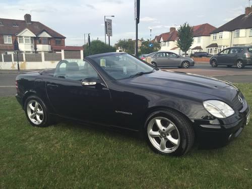2003 Mercedes slk 200 kompressor auto For Sale (picture 1 of 6)