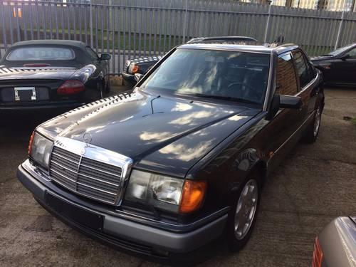 1992 Mercedes-Benz 500 E 500E E500 Super Saloon  SOLD (picture 2 of 6)