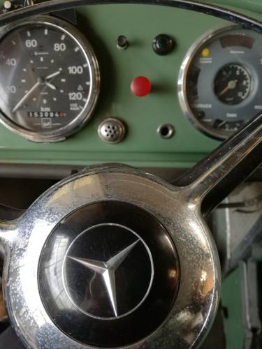 1963 Mercedes L328 Kurzhaube , 9tons, truck, drive licenze 3 SOLD (picture 2 of 6)
