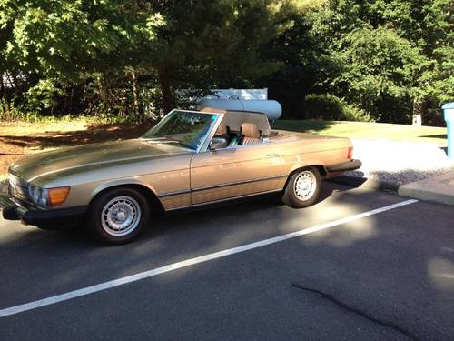 1985 Mercedes-Benz 380SL Convertible For Sale (picture 1 of 6)