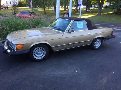 1985 Mercedes-Benz 380SL Convertible For Sale (picture 2 of 6)