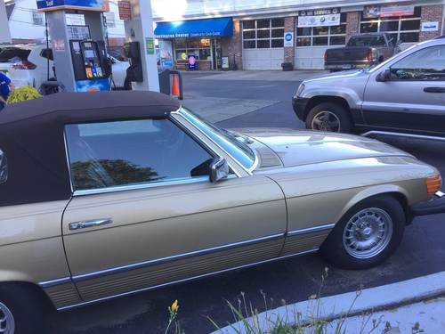1985 Mercedes-Benz 380SL Convertible For Sale (picture 3 of 6)