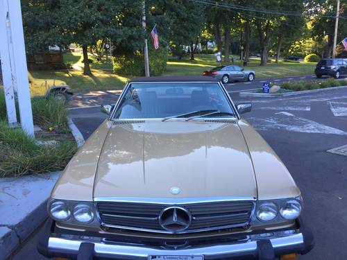 1985 Mercedes-Benz 380SL Convertible For Sale (picture 4 of 6)