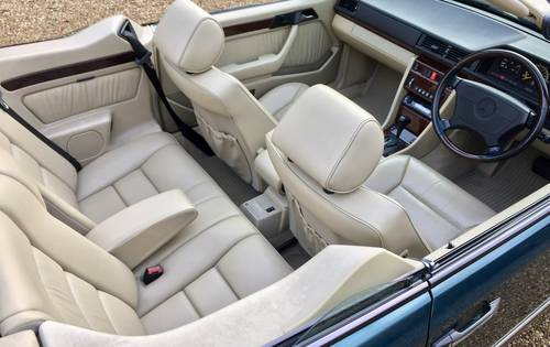 1996/P - **SOLD** Mercedes E320 Cabriolet Sportline. W124. Wanted (picture 6 of 6)