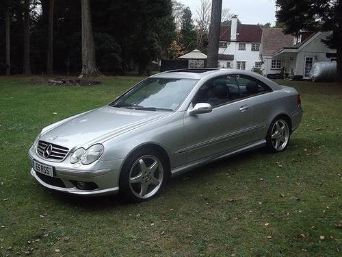 2003 '53 MERCEDES CLK 320 AVANTGARDE AUTOTIP COUPE SOLD (picture 1 of 6)