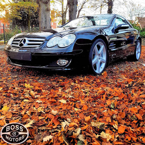2007 Mercedes SL 350 3.5 Convertible Sport Coupe Black For