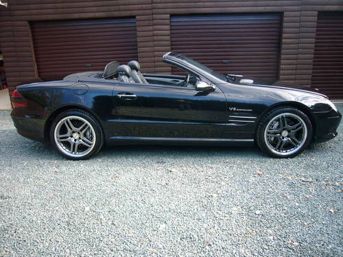 2006-06, SL 55 AMG, 69100 MILES, SAVE £5000 For Sale (picture 1 of 6)