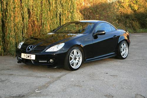 2008 Mercedes SLK 350 Brabus SOLD (picture 1 of 6)